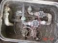 Detail  a vodotesnosť káblov