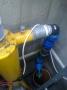 Vyhorené ponorné čerpadlo